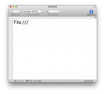 Mac OS X Mountain Lionで「File:///」と入力するとクラッシュする件の対策方法