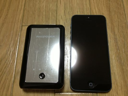 iPhone 5との比較
