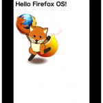 Hello Firefox OS