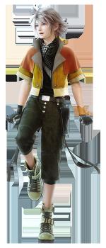 LRFFXIII公式サイト なぜか少年の姿に戻ってるホープきゅんがキャラクター情報に追加