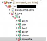 [Android] リソースファイルに画像を追加したらR.javaのdrawableでエラーが起きてコンパイルが通らなくなった件