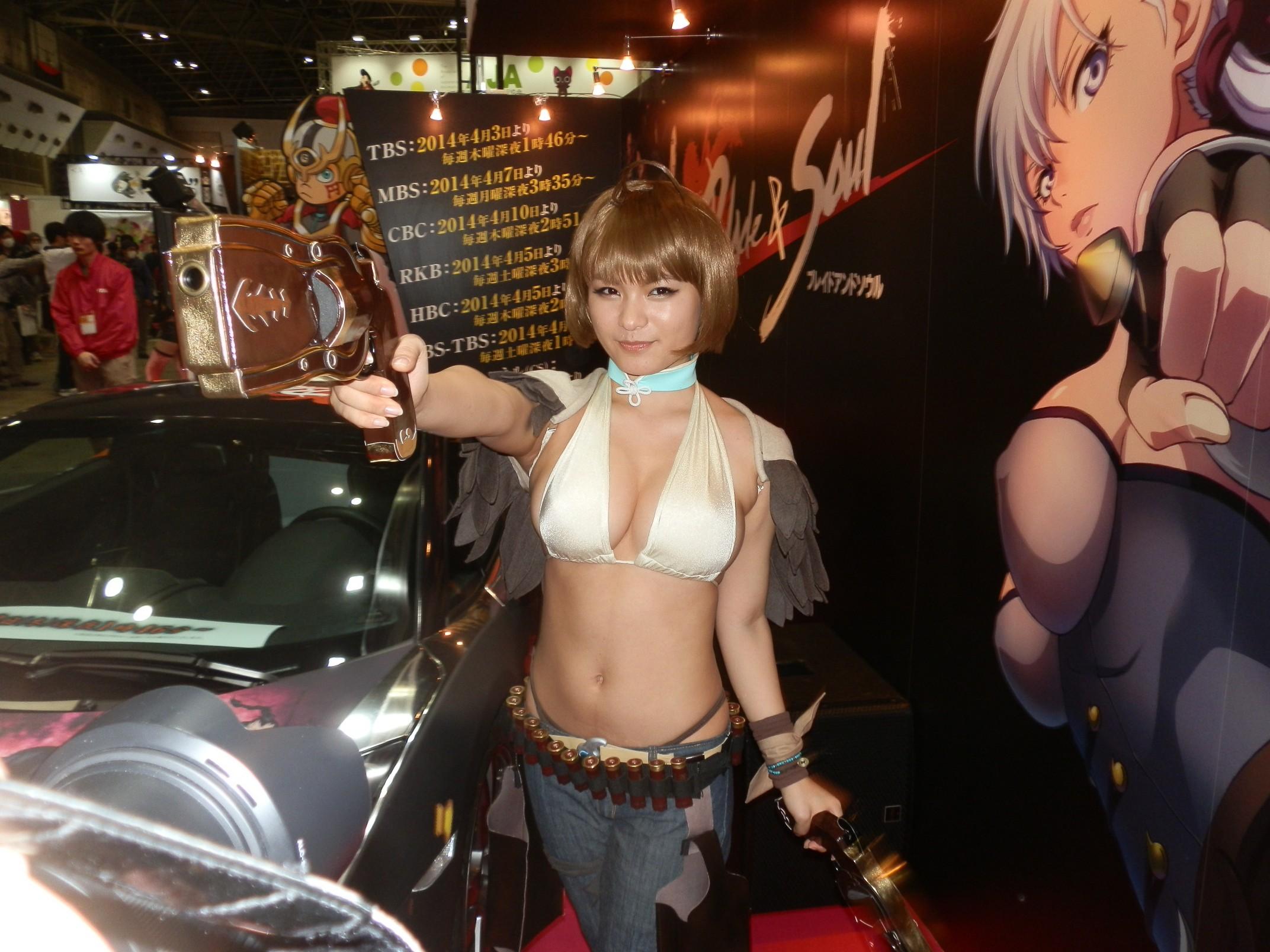 【写真120枚】AnimeJapan 2014コンパニオンさんまとめ
