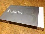 ノートPCの代わりになるタブレット『Surface Pro 3』購入。開封&外観レビュー