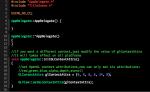 Xcodeエディタで行番号を表示する方法