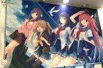 東京アニメセンター「蒼の彼方のフォーリズム」展に行ってきました