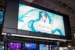 東京ゲームショウ2016 Xperiaブース初音ミクステージでキレッキレのダンスを披露するミクさん #TGS2016