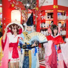 AnimeJapan 2017 陰陽師ブースのコスプレイヤーさんまとめ #AJ2017