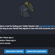 Twitterでフォローしている人のMastodonアカウントを検索できるツール「Mastodon Bridge」
