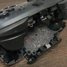 Nintendo Switch プロコンの左スティックがまた調子悪くなってきたので分解して掃除した