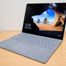 パームレストに温かみのあるMicrosoft製ノートPC『Surface Laptop』レビュー