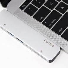 MacBook Proにピッタリ装着。UCOUSOの密着型USB Type-Cハブが良い感じ