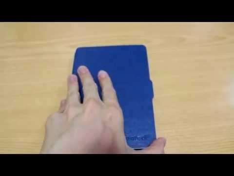 Inateck Kindle Paperwhite用PUレザーカバー(外観)