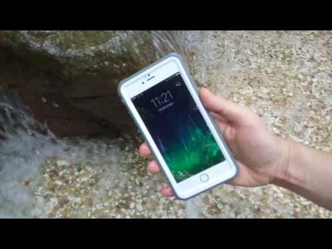 Eonfine iPhone 6 Plus防水ケース 川で使用