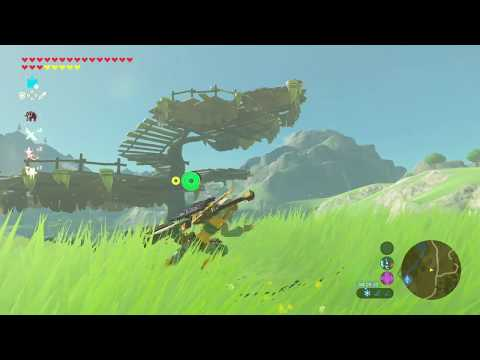 Nintendo Switch ゼルダの伝説 ブレス オブ ザ ワイルド プレイ動画テスト