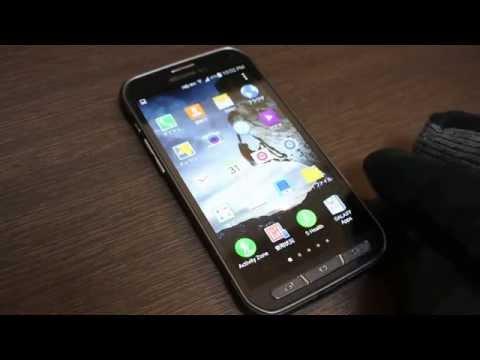GALAXY S5 ACTIVE 高感度タッチ操作