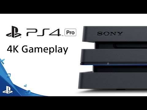 PS4 Pro 4K Gameplay Sizzle   PS4 Pro