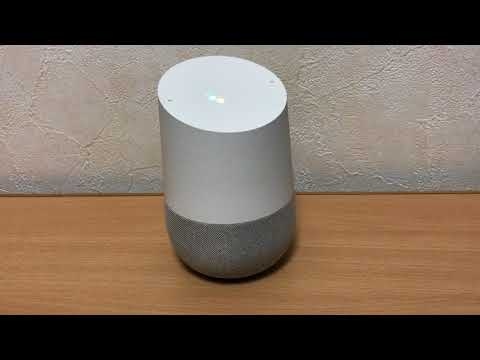 Google Home 電源ケーブル接続で起動