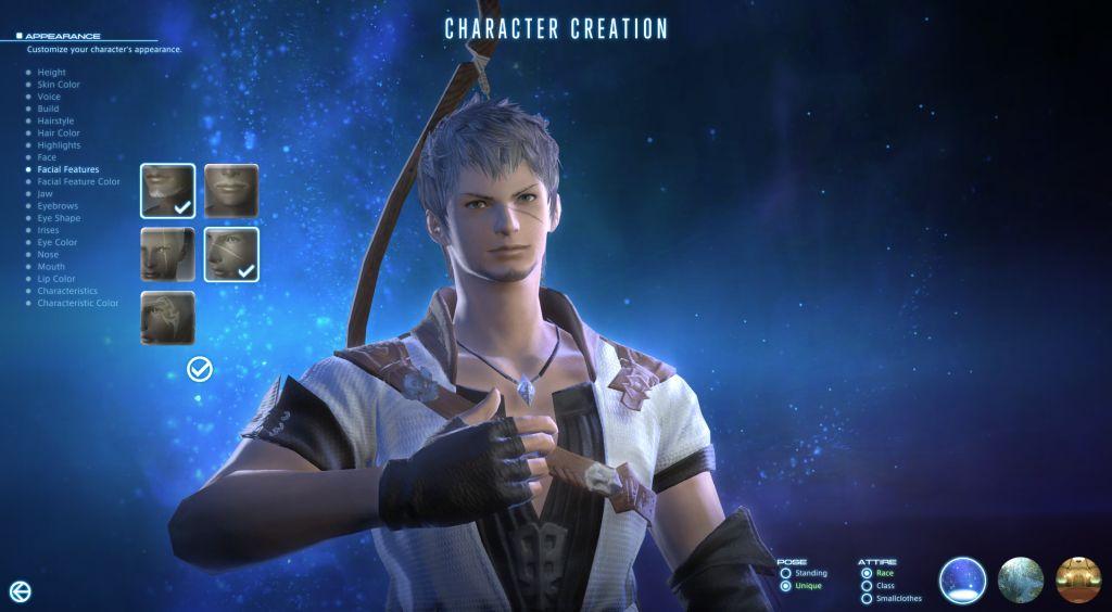 『新生FF14』キャラメイクのスクリーンショットが公開!ヒューランさんマジイケメン