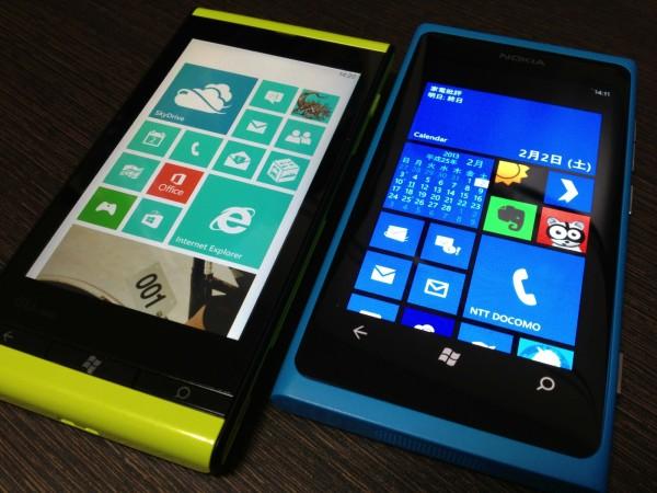 Windows Phone 7.8で自分好みのWindows Phoneに!IS12TとLumia 800をアップデートしてみた