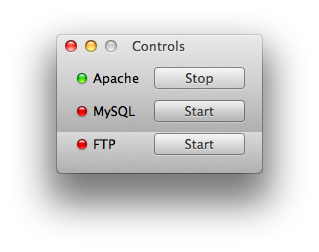 Apache stop