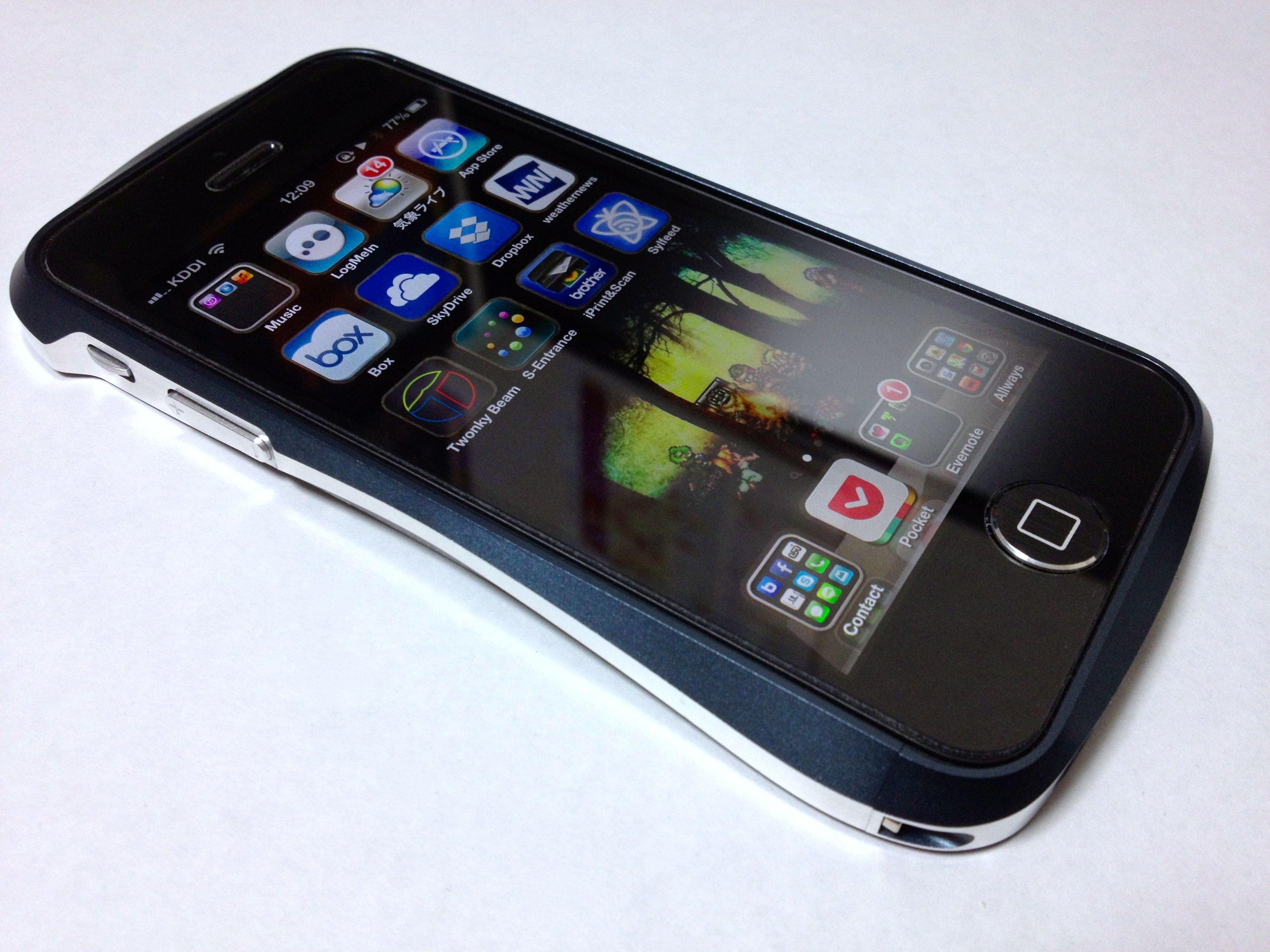 CLEAVE ALUMINUM BUMPER for iPhone 5