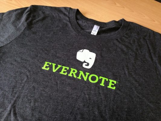 Evernote Tシャツ