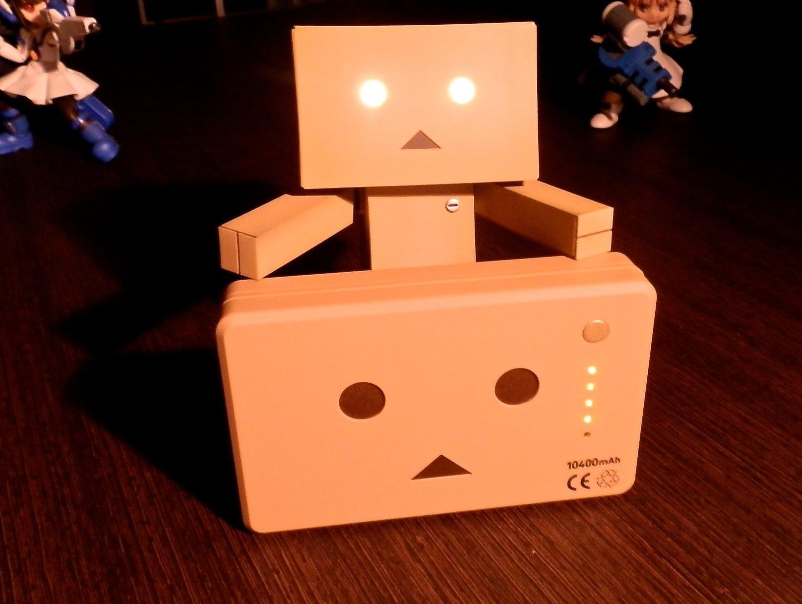 ついに我が家にも!可愛すぎるダンボーバッテリー「cheero Power Plus DANBOARD Version」がやってきた
