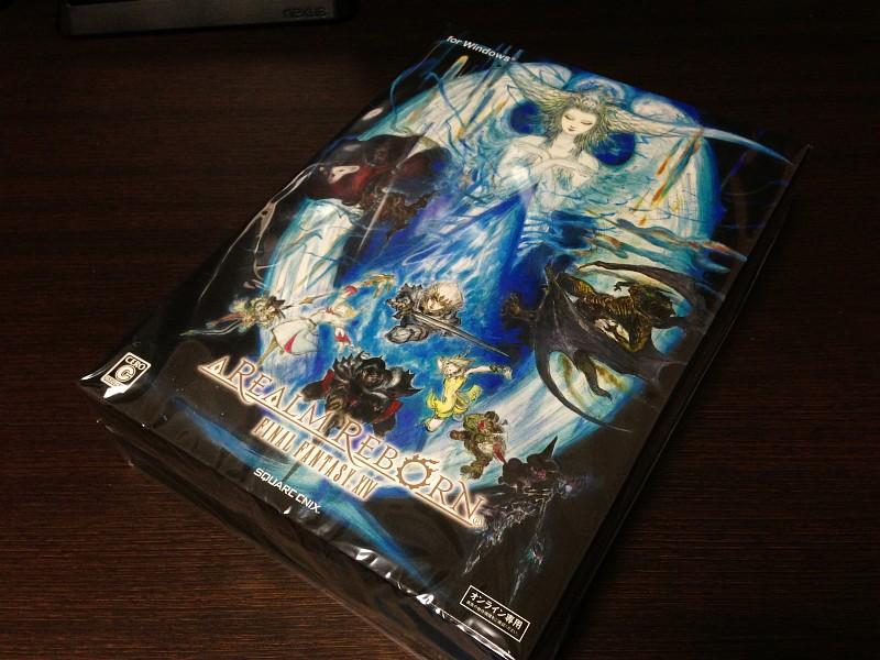 FFXIV:新生エオルゼア コレクターズエディションが届きました