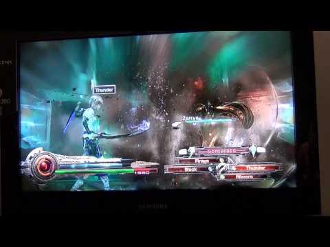 LRFFXIII gamescom ルミナが召喚するボスとのバトル
