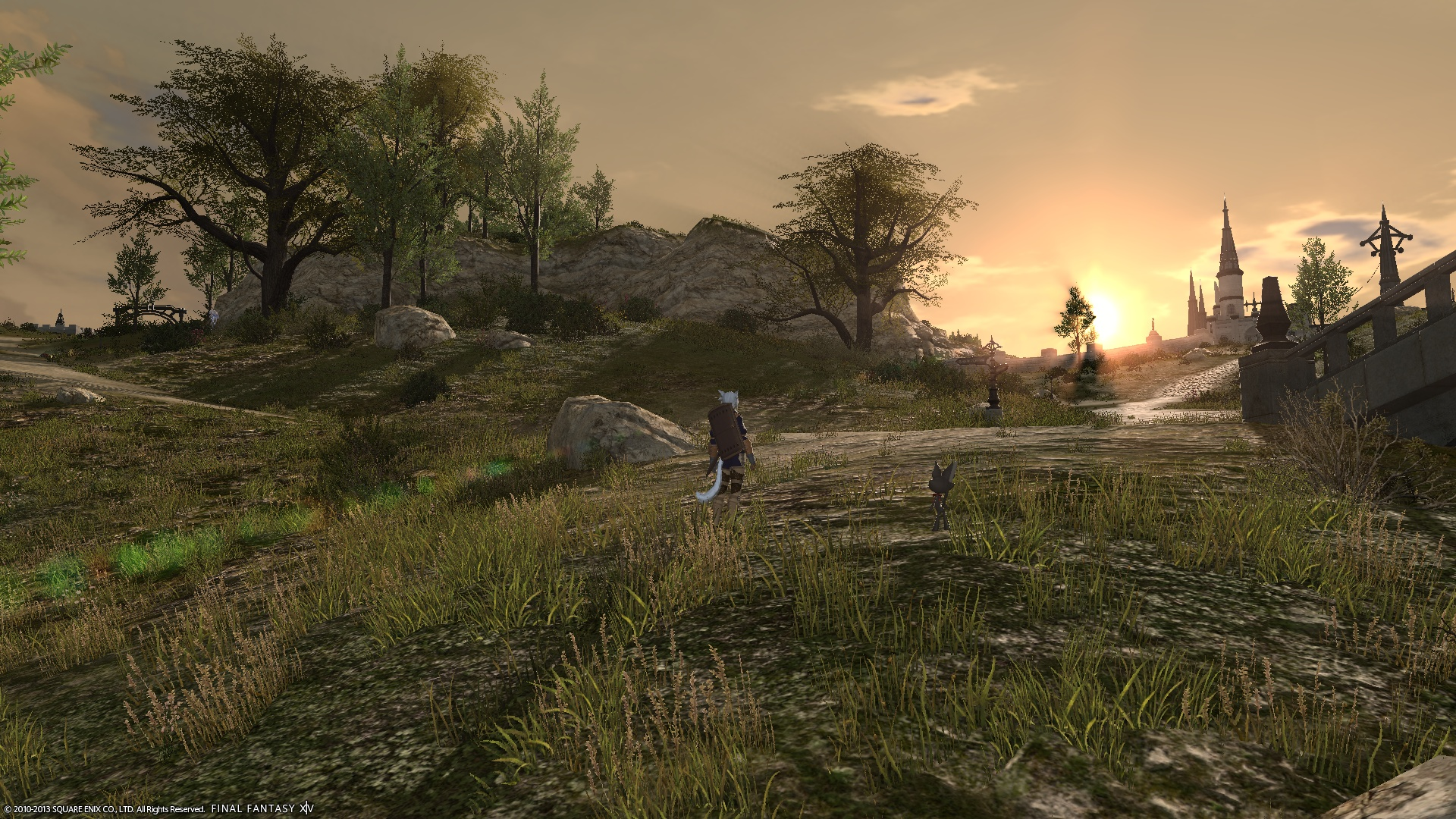 FFXIV:新生エオルゼア PS3版にて高解像度でゲームをプレイする方法 #FF14