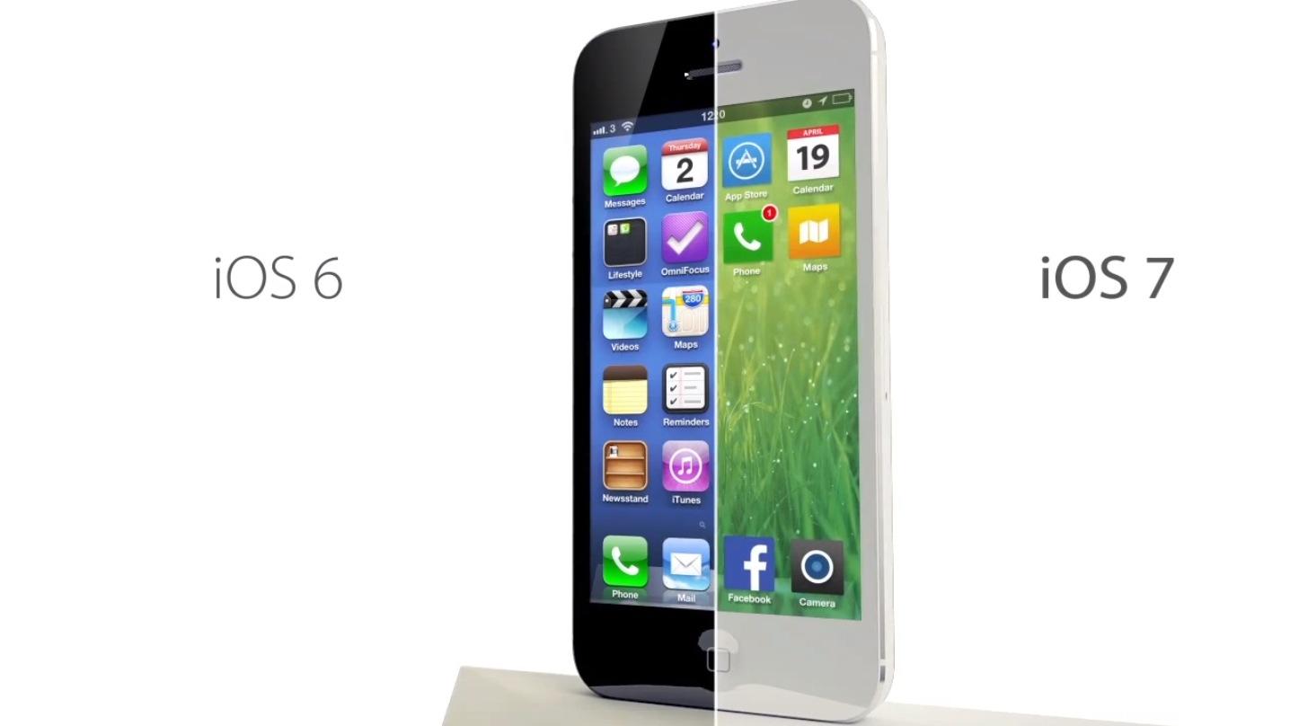 iPhone 4SをiOS 7にアップデートしてみましたが重いのであまりオススメしません