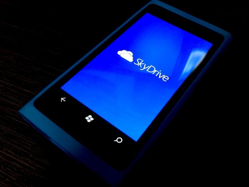 Windows PhoneユーザーへMicrosoftからのクリスマスプレゼント!SkyDriveに1年間有効な容量20GBをプラス