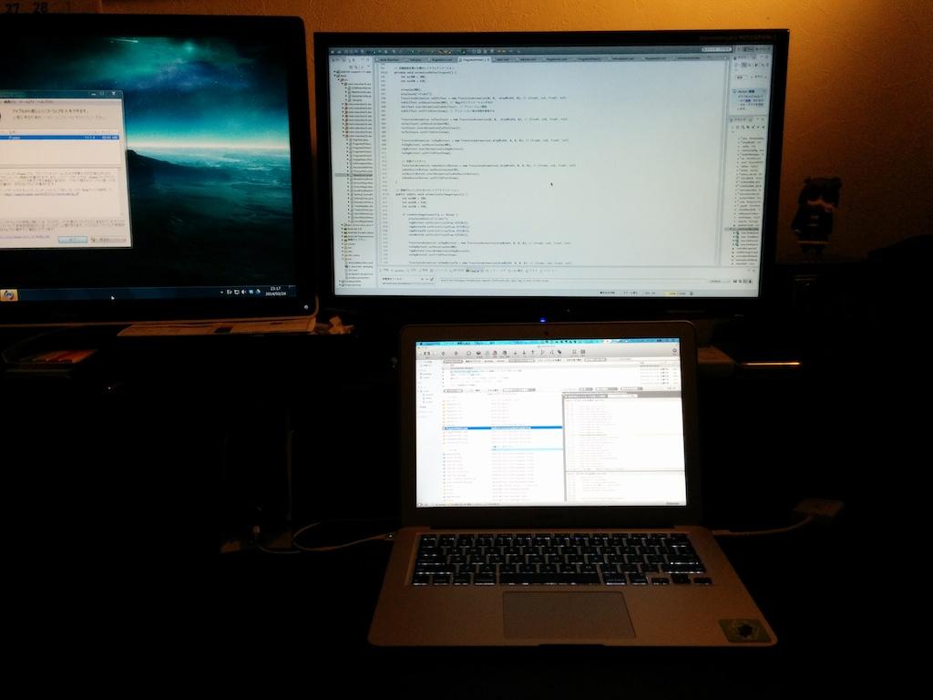 外での作業効率が大幅アップ!Mac用Mini Displayport-HDMI変換アダプタを買いました