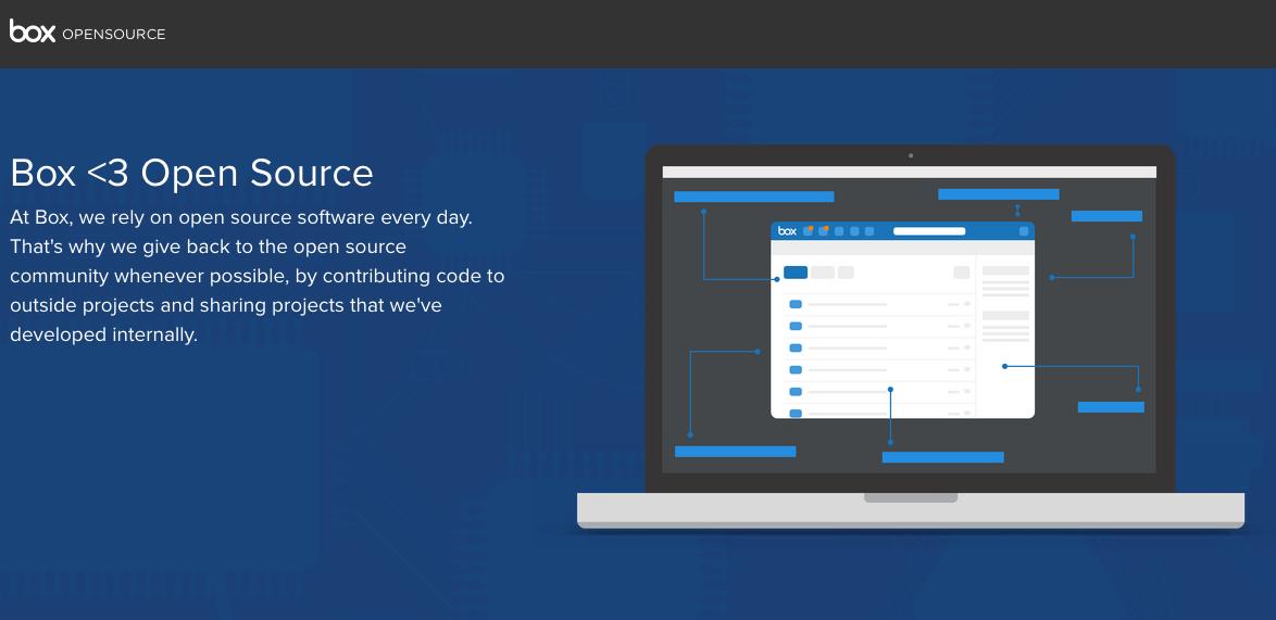クラウドストレージサービスのBoxがオープンソース化。SDKや社内開発プロジェクトをGitHubに公開