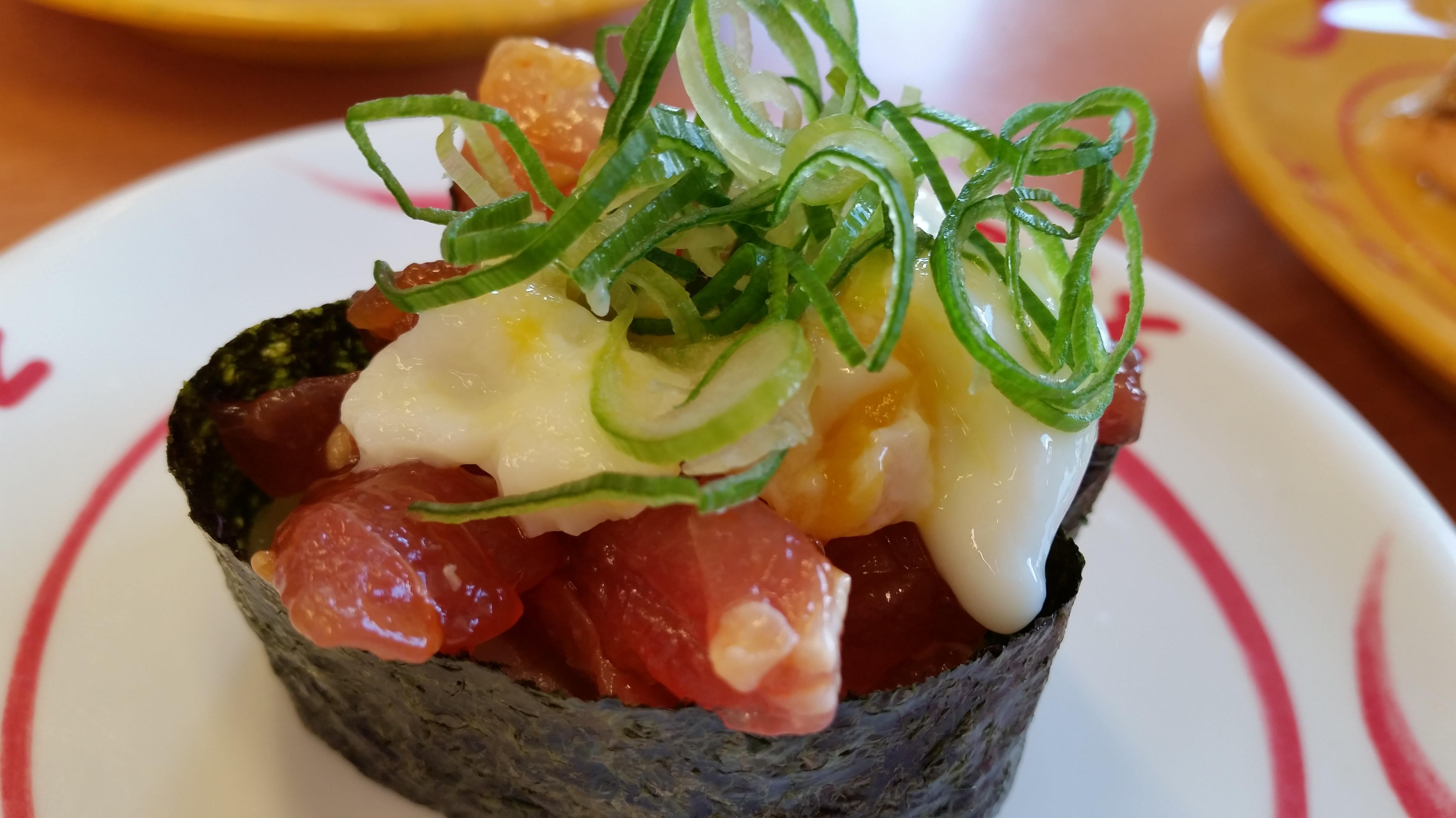 【ネタ】GALAXY S5でスシローの100円寿司を撮ってみた