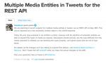 Twitter、複数画像のREST APIをサードパーティにも公開。現地時間5月28日に適用開始