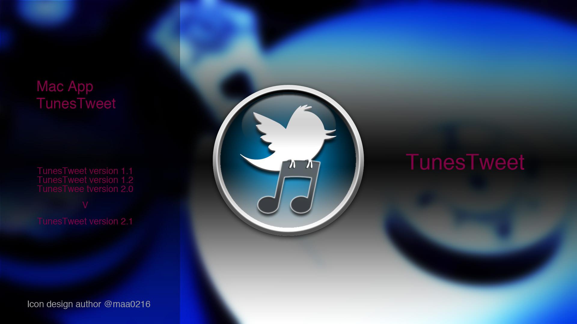 MacのiTunesで再生中の曲をアルバムアートワーク画像付きでつぶやくアプリ「TunesTweet」を入れてみた