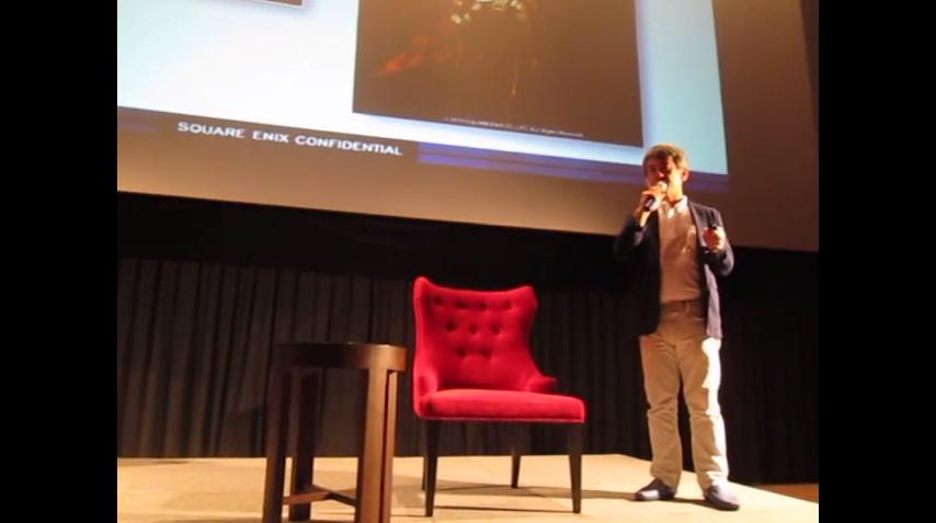 【海外】タイ・コミコン 2014 スクエニ橋本プロデューサーのインタビュー動画