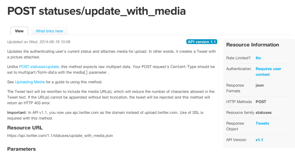 Twitter、アニメーションGIFの公式サポート復活に伴いREST APIでの投稿も可能に