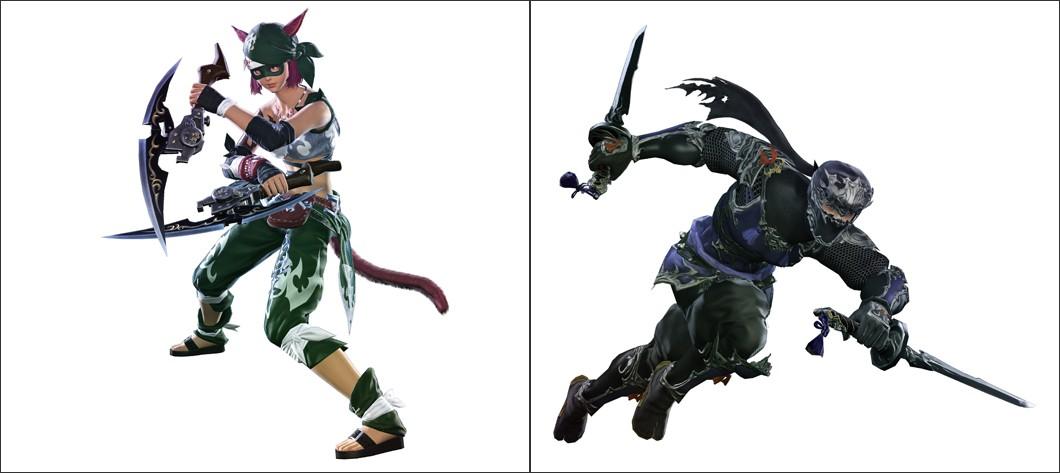 新生FFXIV 新クラス/新ジョブ「双剣士」「忍者」パッチ2.4で実装予定