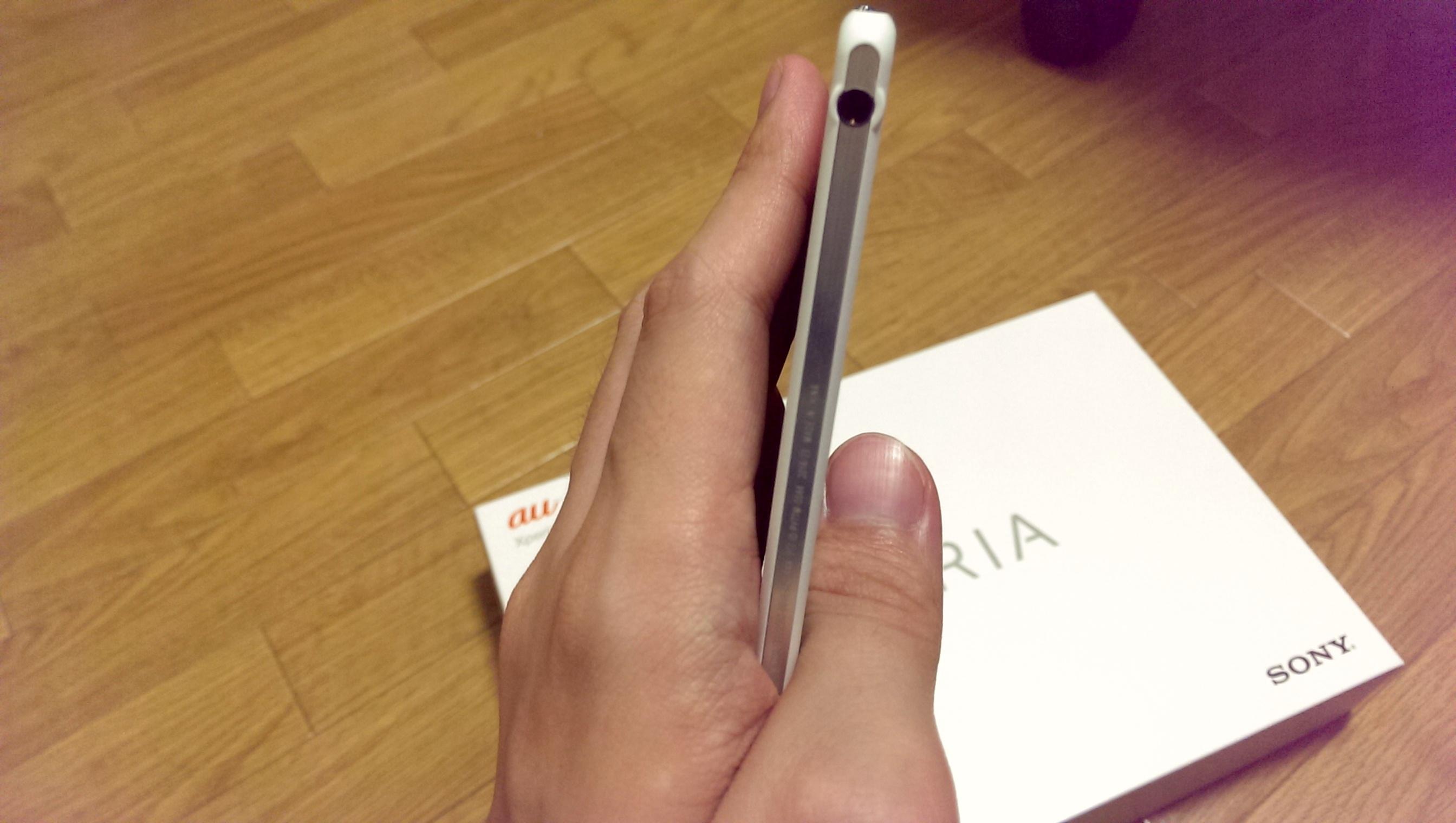 ペロッ!この感覚は……「板」かな?Xperia Z2 Tablet外観レビュー #Xperiaアンバサダー