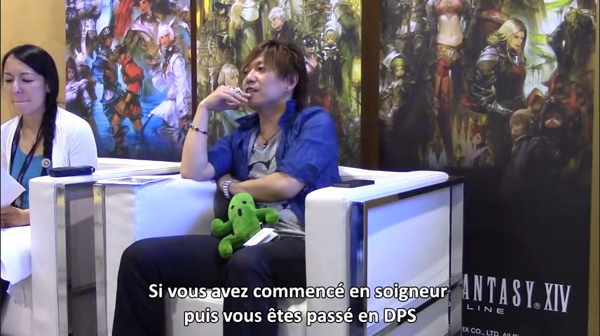 【海外】Japan Expo 2014 新生FFXIV吉田プロデューサーインタビュー動画(Finaland)