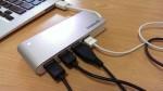 MacBook AirやSurface Pro 3にも『Inateck USB3.0 高速ハブ 4ポート ケーブル収納型 ポータブルバスパワー』レビュー
