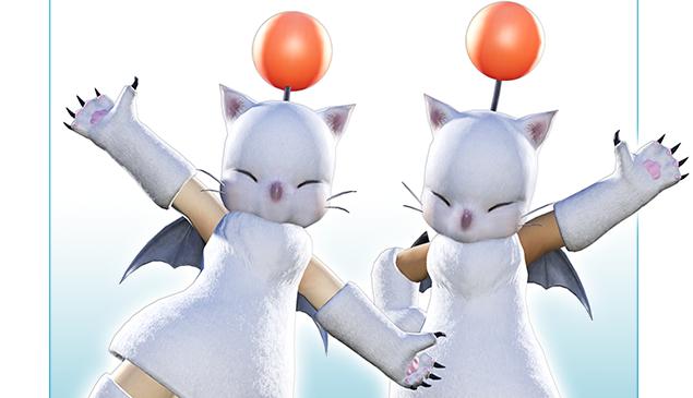 『FINAL FANTASY XIV FAN FESTIVAL 2014』来場者にはモーグリになれるアイテム「モグモグアタイア」プレゼント