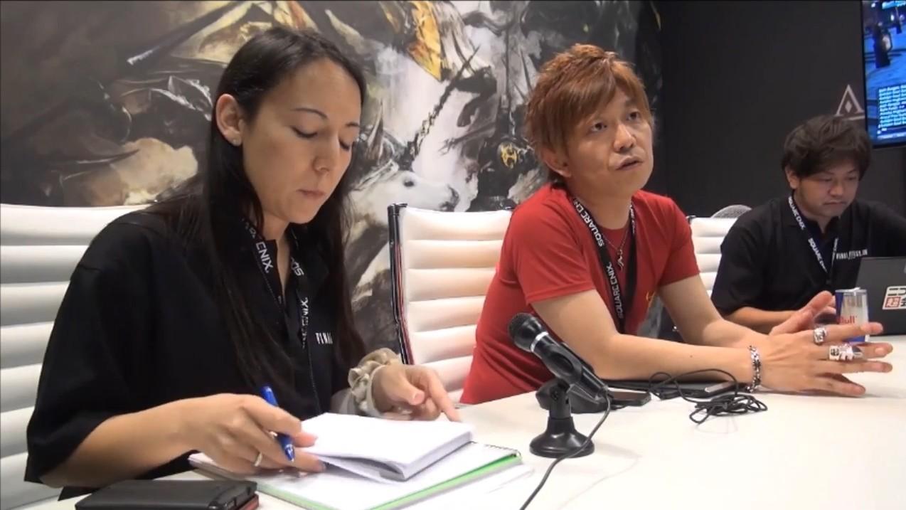 【海外】Gamescom 2014 新生FFXIV吉田プロデューサーインタビュー動画(JPGAMES)