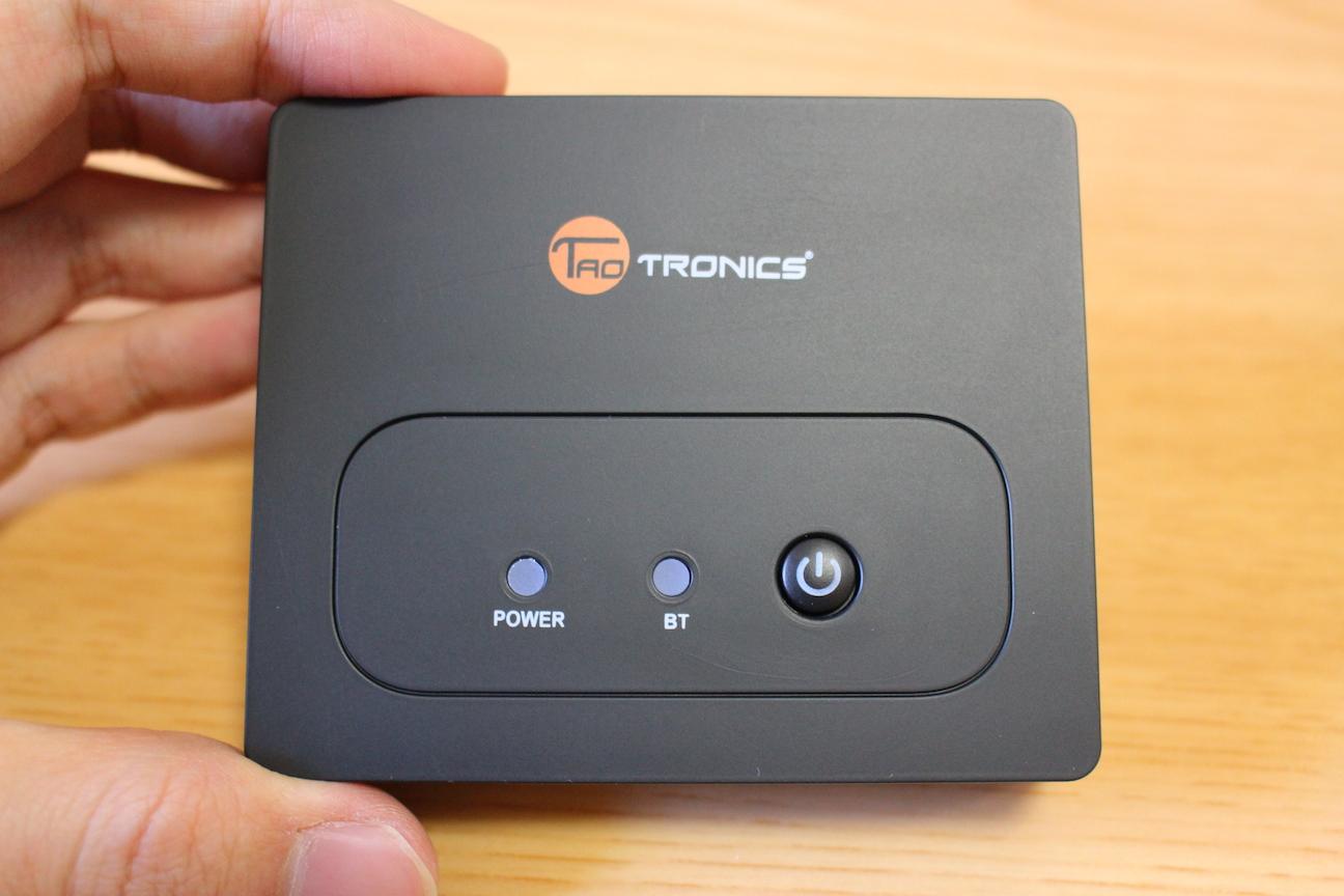 有線スピーカーがあっという間に無線化。Bluetoothワイヤレスオーディオレシーバー『TaoTronics TT-BR02』