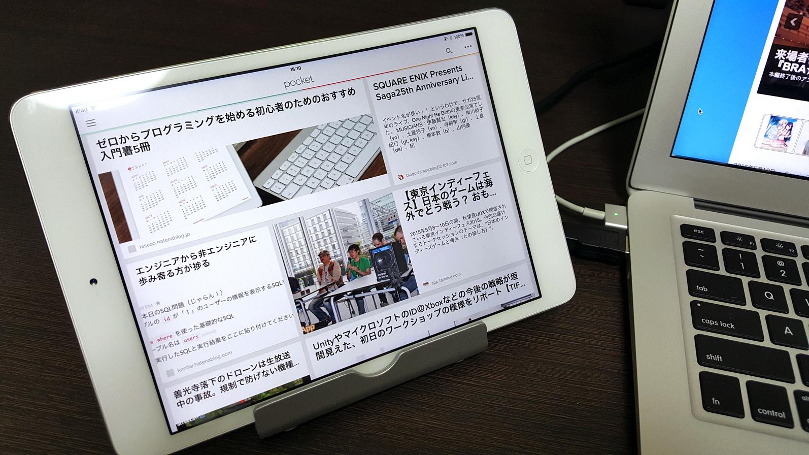 デスクの脇にそっと置けるコンパクトさが魅力的。スマホ・タブレット用スタンド『Aukey HD-T5』レビュー