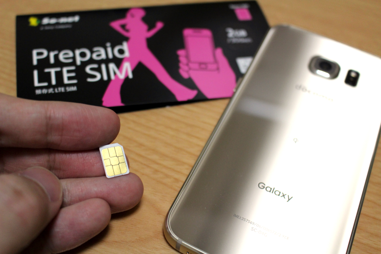 Galaxy S6 edgeにSo-netのプリペイドSIM『Prepaid LTE SIM』を入れてみた