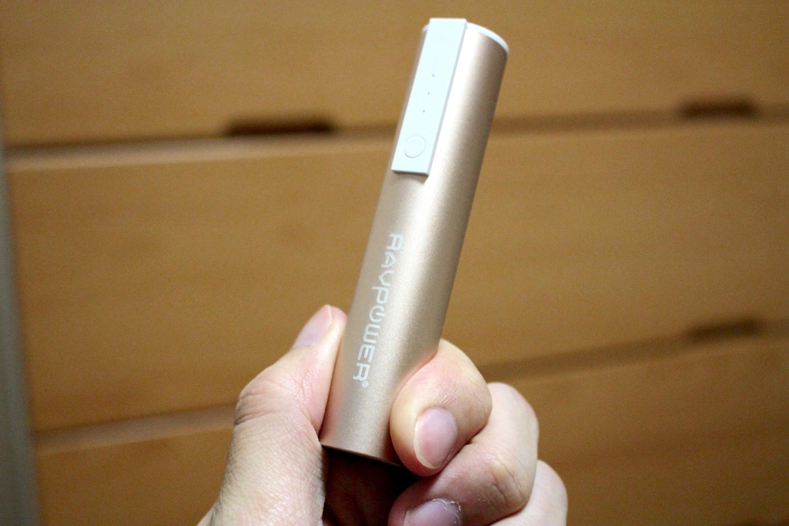 コンパクトで上品なデザイン。女性におすすめなモバイルバッテリー『RAVPower Luster Mini』レビュー