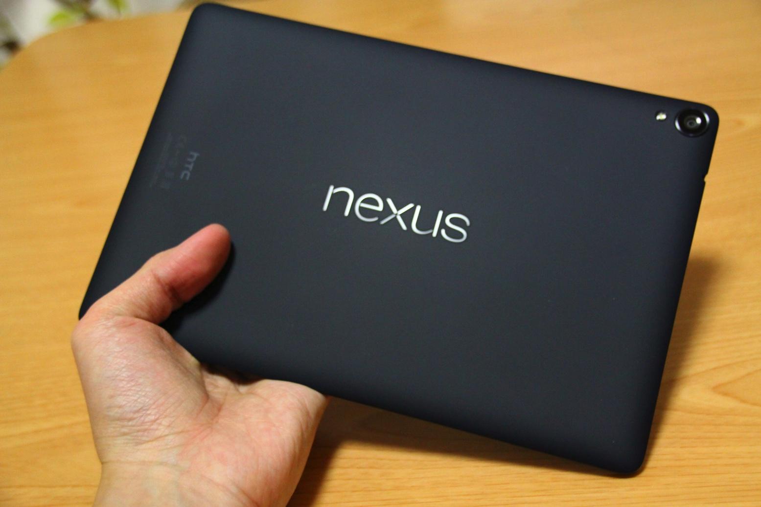 SIMフリーLTE 32GBモデルのNexus 9が3万円台になってたので買いました